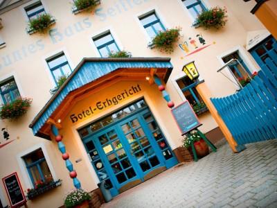 Buntes Haus Seiffen - Hotel Erbgericht