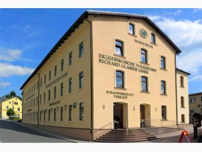 Ladengeschäft Erzgebirgische Volkskunst Richard Glässer GmbH Seiffen