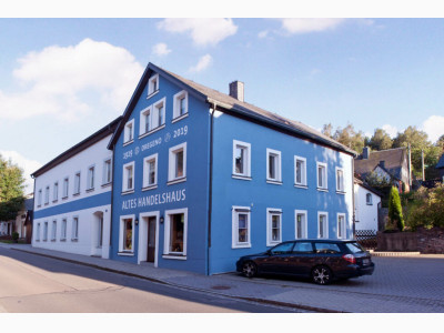 Altes Handelshaus Dregeno Seiffen