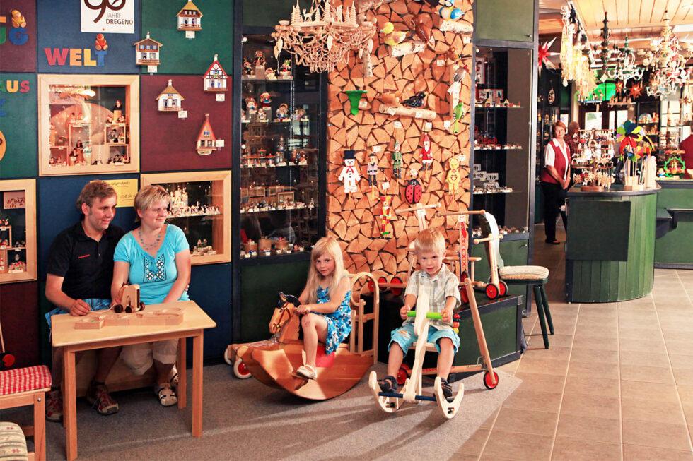 Spielzeugschachtel Faszination Holzkunst im Herzen Seiffens 3