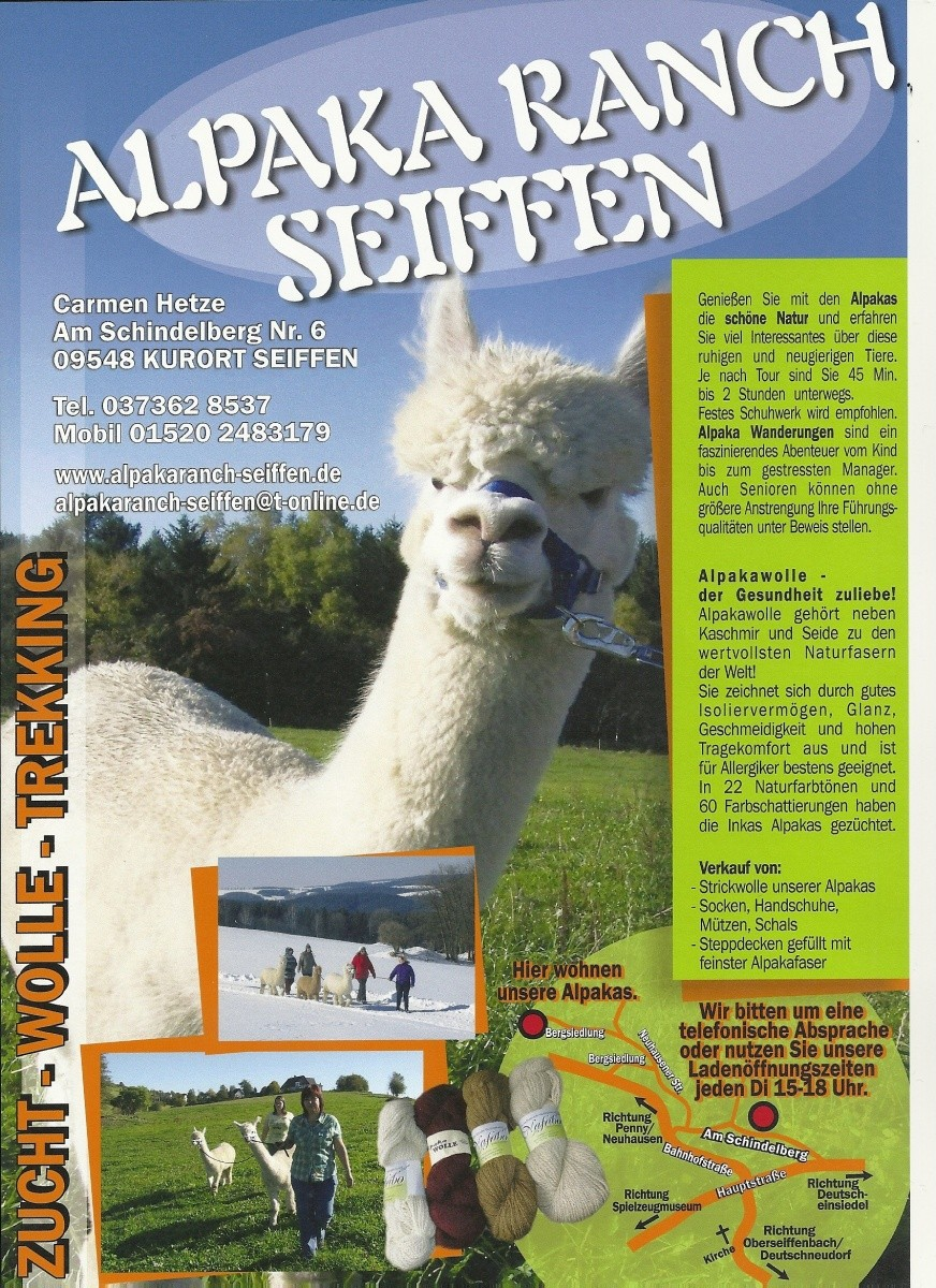 Alpaka Ranch Seiffen 3