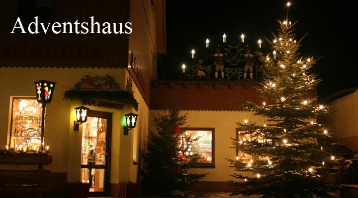 Kunstgewerbe Beer-Knusperhäusl und Adventshaus Ladengeschäft 2