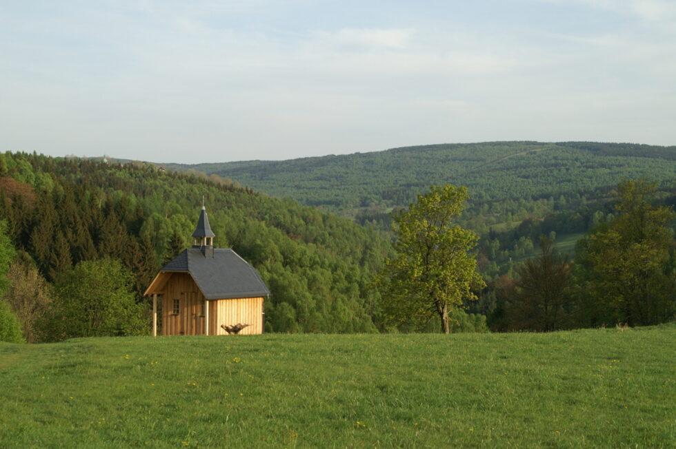 Erste Wanderkapelle im sächsischen Erzgebirge 1