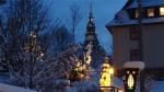 Bergkirche Seiffen im Schnee