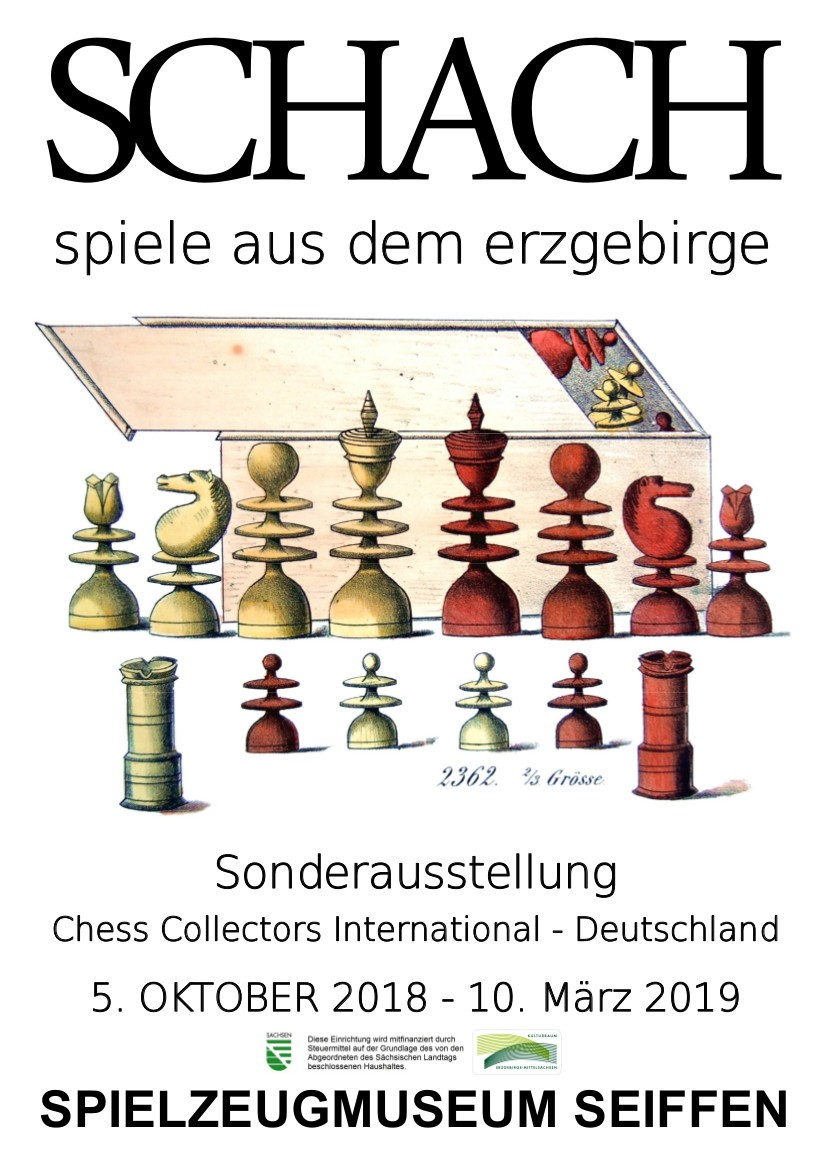 """SONDERAUSSTELLUNG """"SCHACHspiele aus dem Erzgebirge"""" 1"""