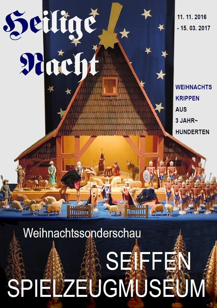 Weihnachtssonderausstellung @ Erzgebirgisches Spielzeugmuseum | Kurort Seiffen/Erzgeb. | Sachsen | Deutschland