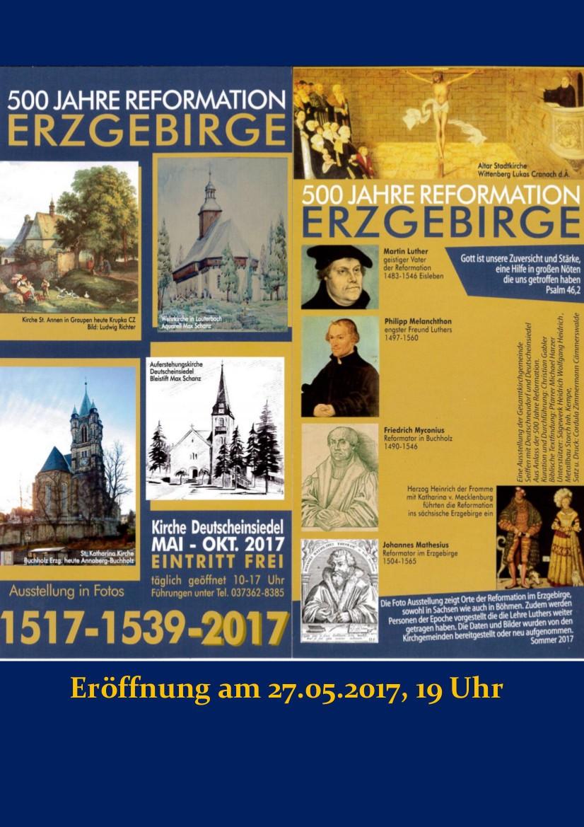 Ausstellung Luther in der Kirche Deutscheinsiedel @ Kirche Deutscheinsiedel | Deutschneudorf | Sachsen | Deutschland