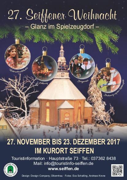 27. Seiffener Weihnacht @ Kurort Seiffen | Kurort Seiffen/Erzgeb. | Sachsen | Deutschland