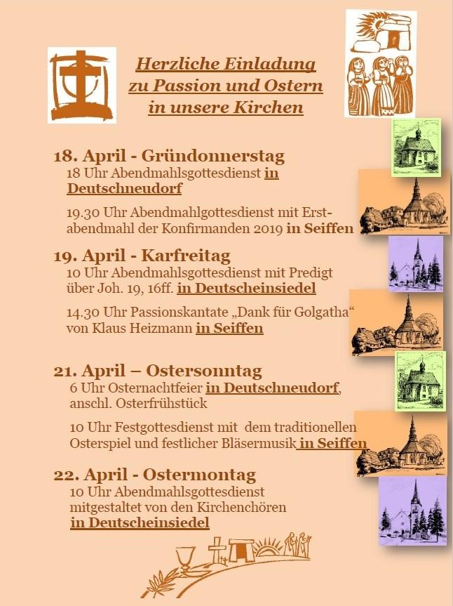 Ostern in der Bergkirche @ Bergkirche | Deutschneudorf | Sachsen | Deutschland