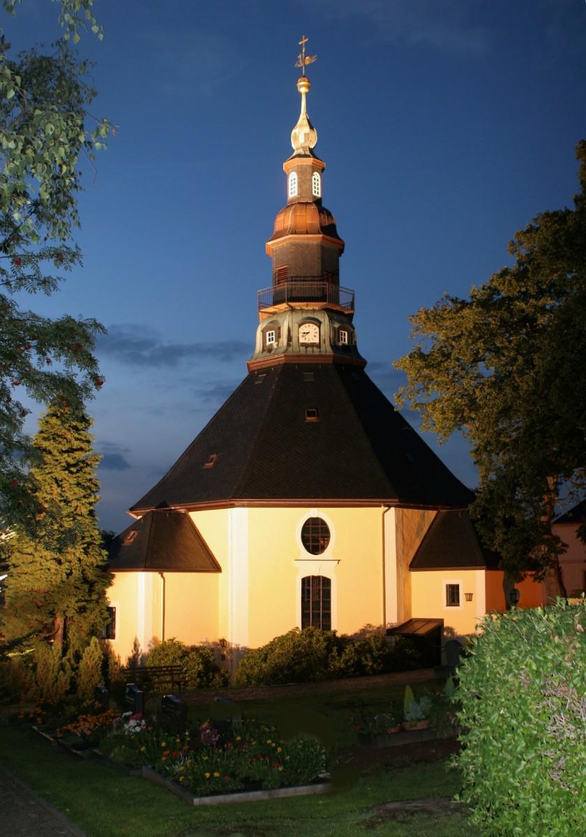Junge Sänger des Mozarteum Salzburg zu Gast in der Bergkirche Seiffen 3