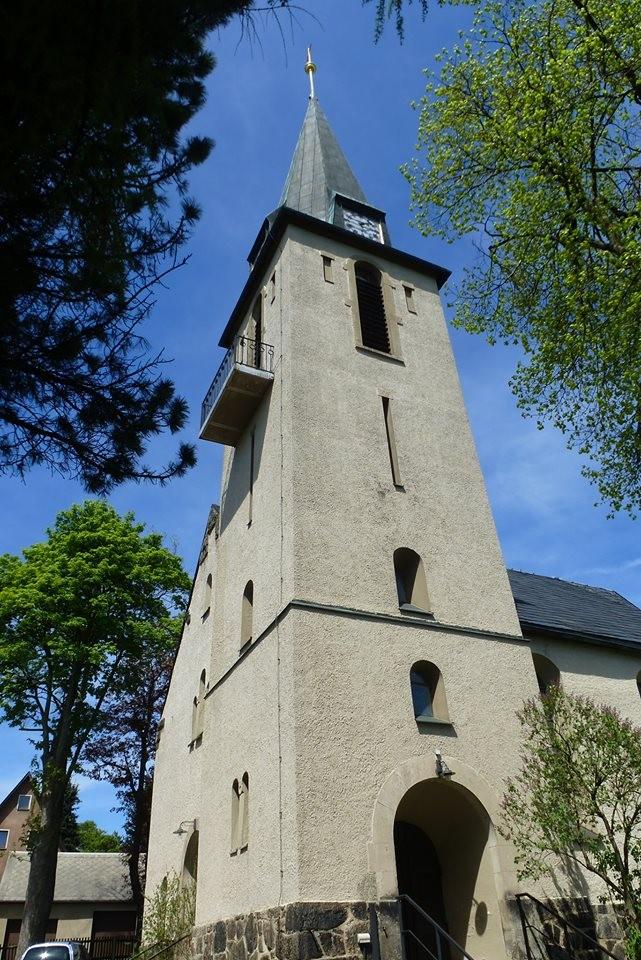Festgottesdienst in der Kirche Deutscheinsiedel 1