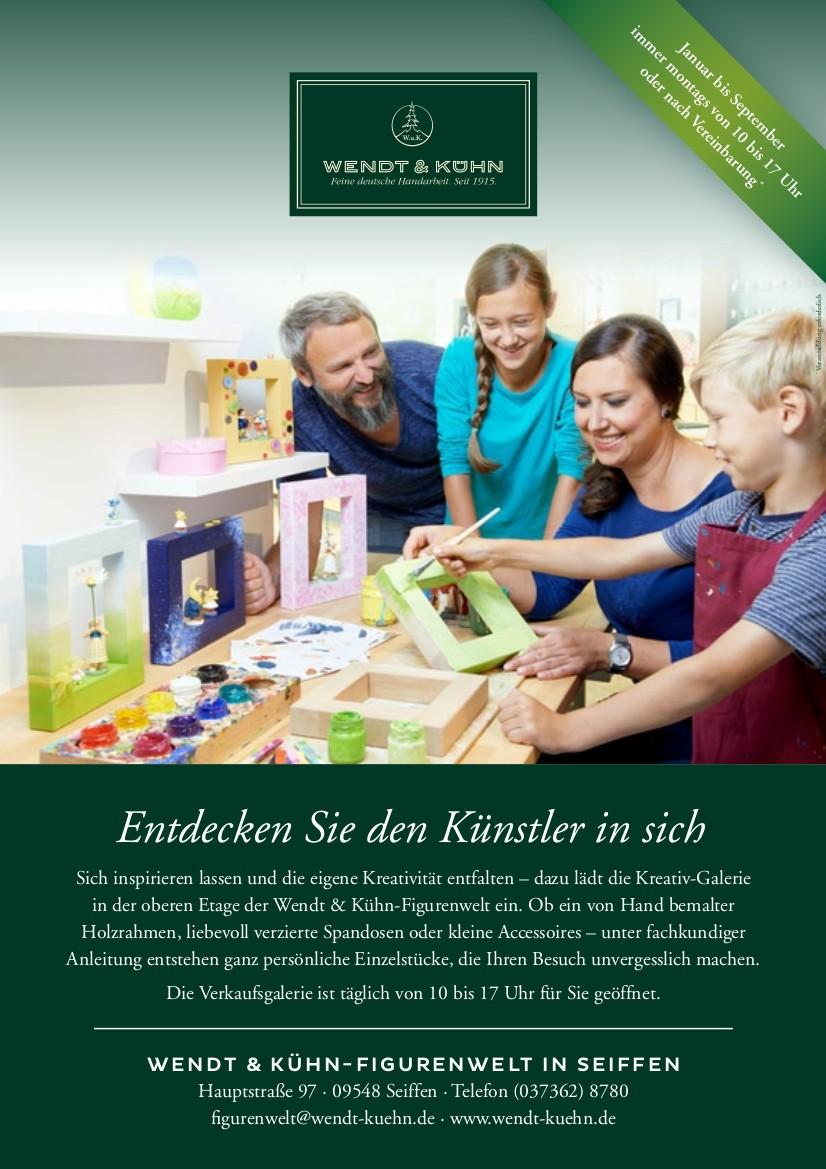 Kreativ Galerie @ Wendt & Kühn | Kurort Seiffen/Erzgeb. | Sachsen | Deutschland