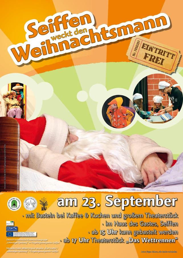 Seiffen weckt den Weihnachtsmann @ Haus des Gastes | Kurort Seiffen/Erzgeb. | Sachsen | Deutschland