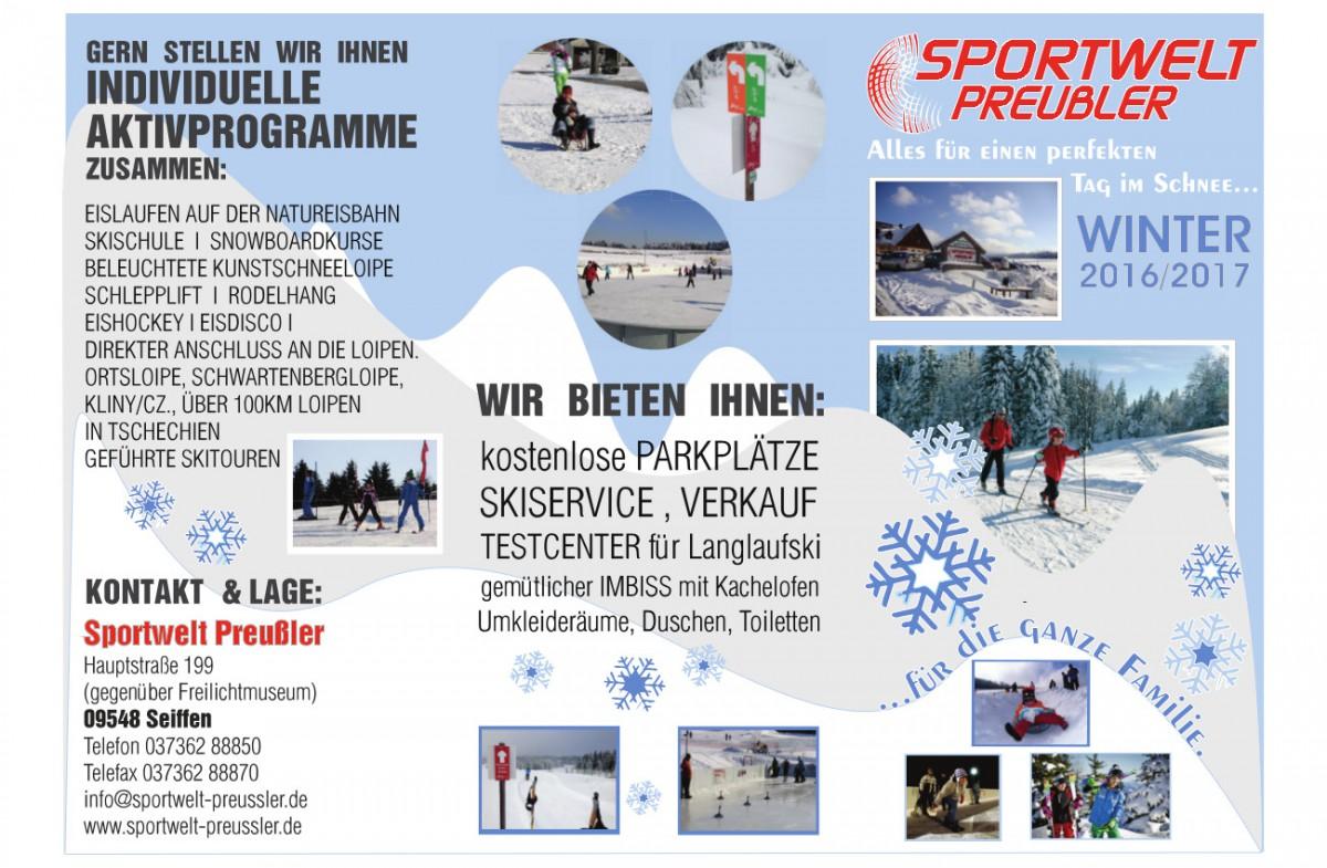 Landesmeisterschaften Langlauf Brandenburg @ Sportwelt Preußler | Kurort Seiffen/Erzgeb. | Sachsen | Deutschland