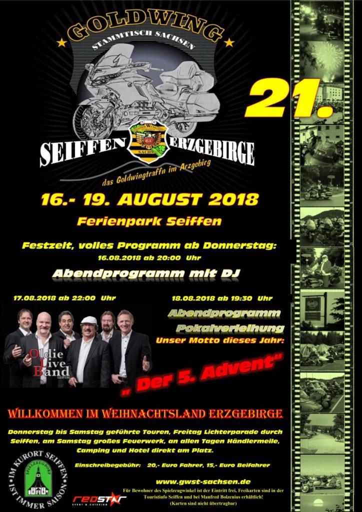 21. Goldwingtreffen @ Hotel Ahornberg | Kurort Seiffen/Erzgeb. | Sachsen | Deutschland