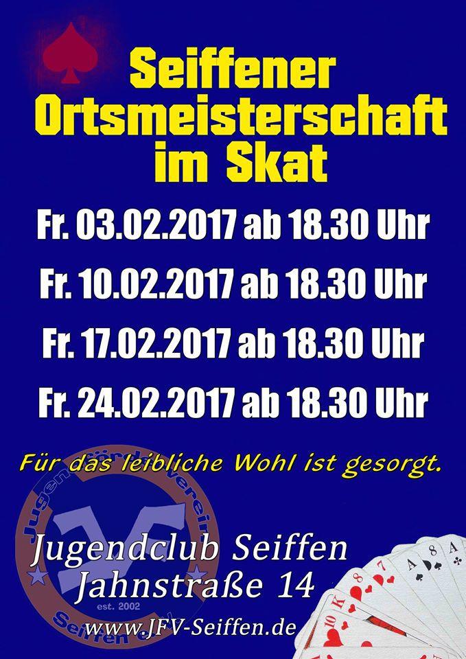 Ortsmeisterschaft im Skat @ Jugendclub   Kurort Seiffen/Erzgeb.   Sachsen   Deutschland