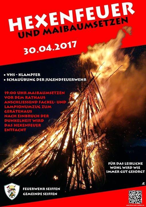 Maibaumsetzen mit Hexenfeuer @ Feuerwehr Seiffen | Kurort Seiffen/Erzgeb. | Sachsen | Deutschland