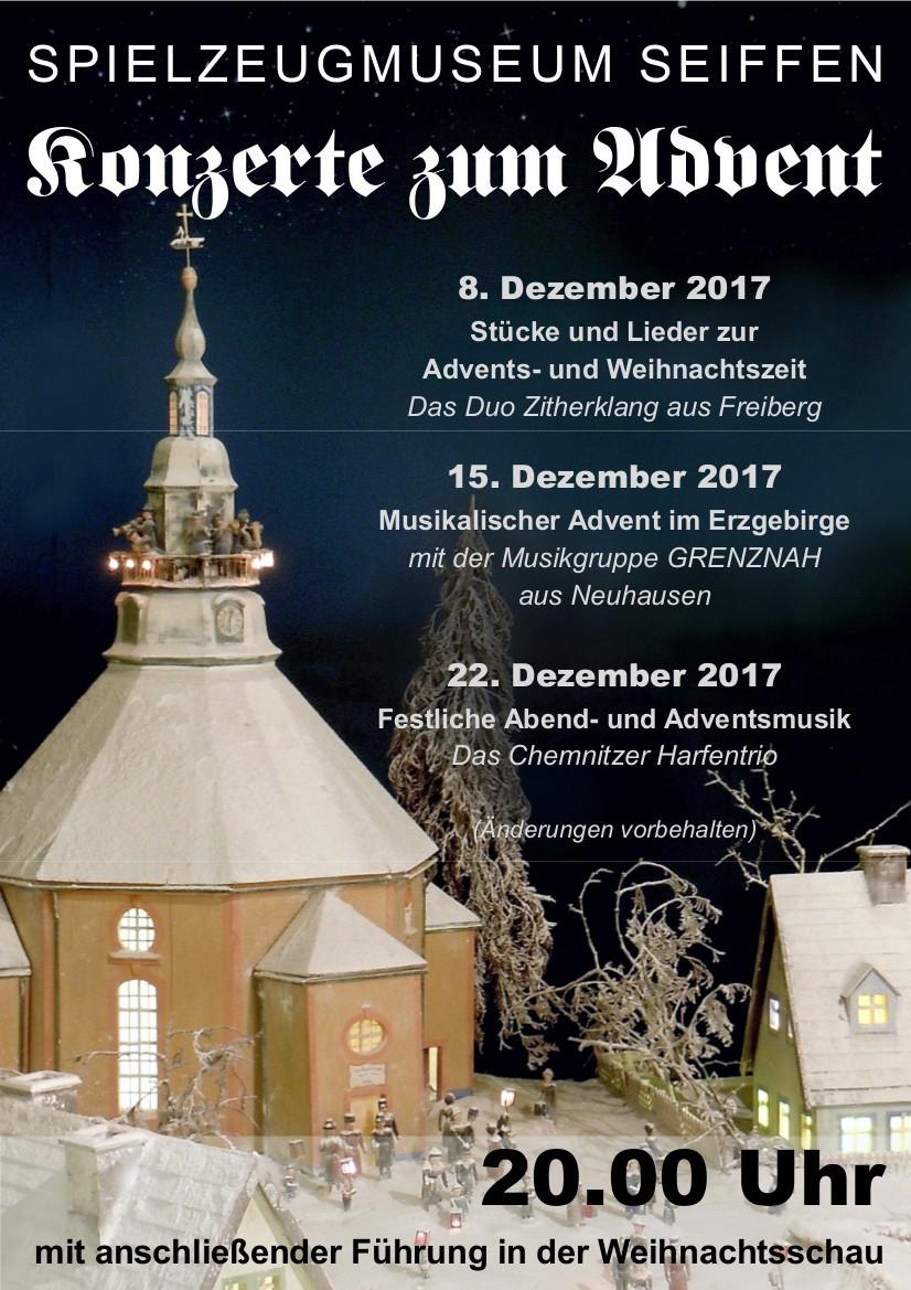 Festliche Advents- und Weihnachtsmusik zum Freitagabend   Seiffen