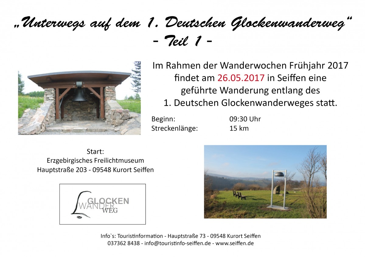 Wandern auf dem Glockenwanderweg @ Freilichtmuseum  | Kurort Seiffen/Erzgeb. | Sachsen | Deutschland