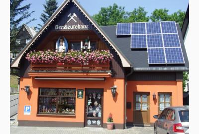 Bergleutehaus, Erzgeb. Volkskunst G. Ulbricht 19