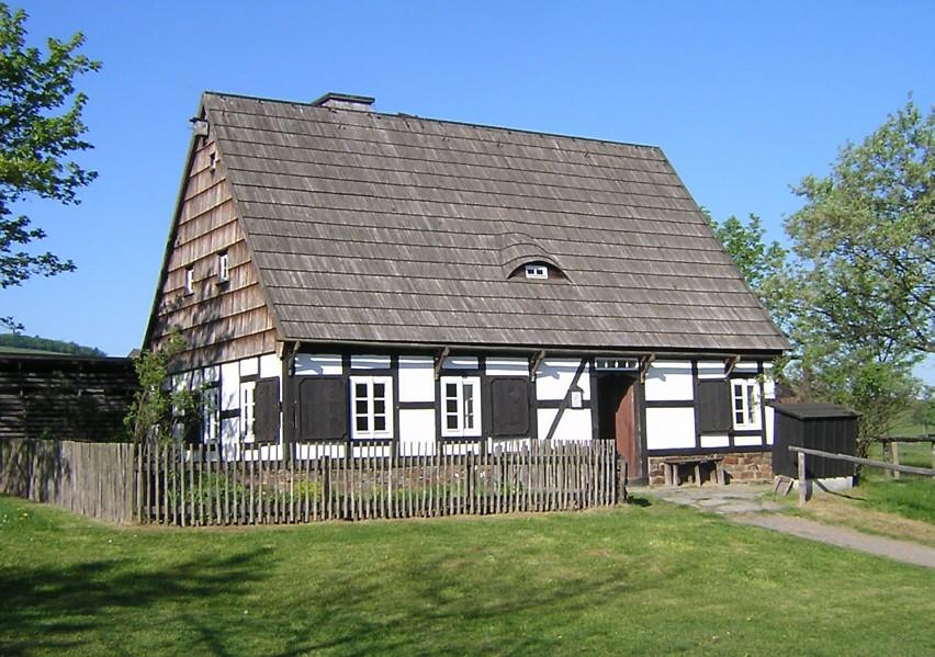 Waldarbeiterhaus im Freilichtmuseum