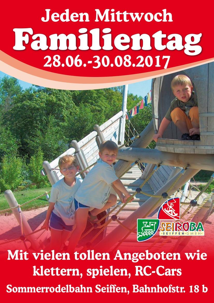 Familientag an der Sommerrodelbahn @ Seiroba GmbH | Kurort Seiffen/Erzgeb. | Sachsen | Deutschland