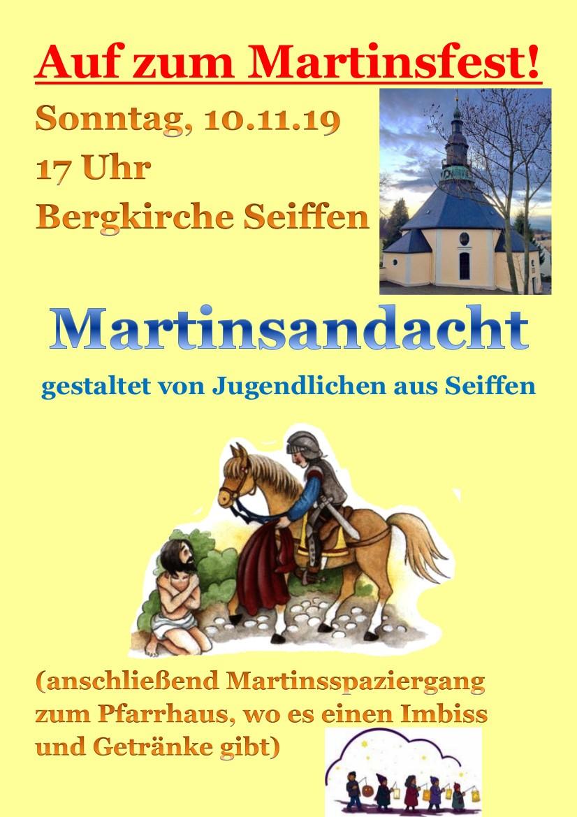 Plakat Martinstag 2019