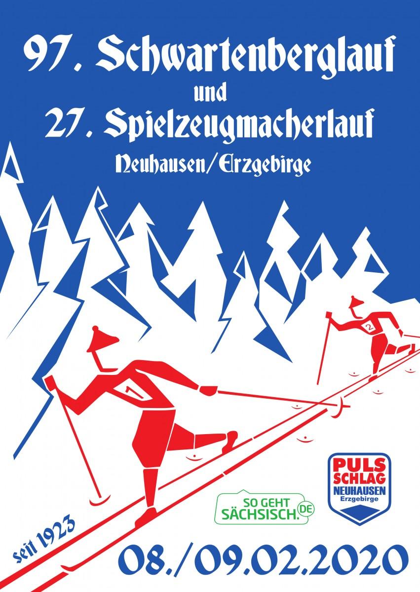 08.-09.02.2020 Schwartenberglauf Bad Einsiedel