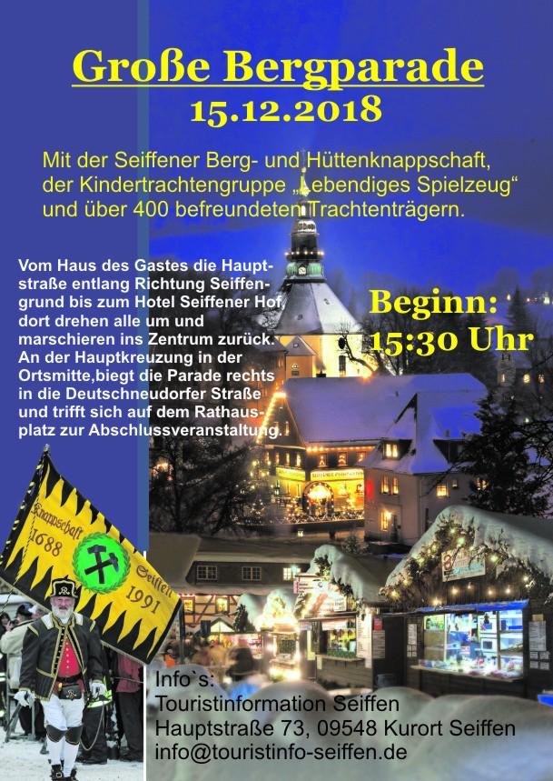 Große Bergparade am 15.Dezember 2018 3
