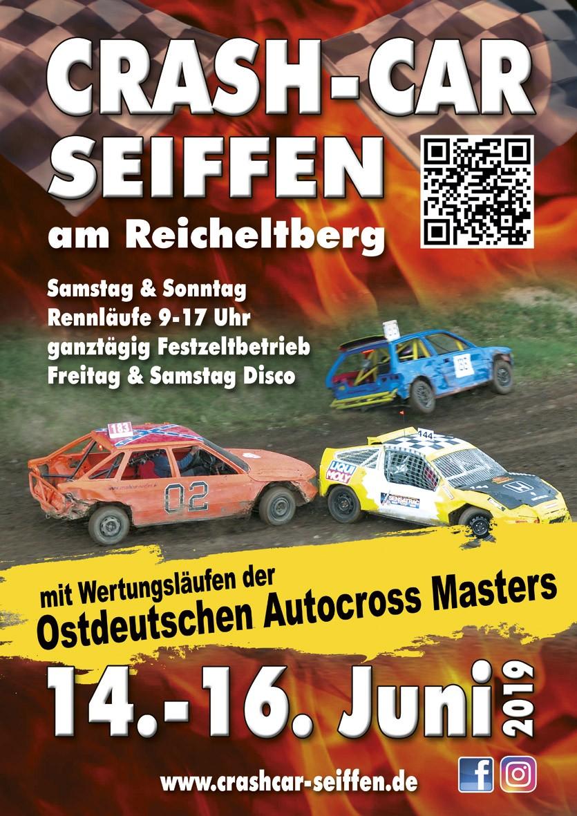 13. Crash Car Rennen @ Motocross-Strecke am Reicheltberg | Kurort Seiffen/Erzgeb. | Sachsen | Deutschland
