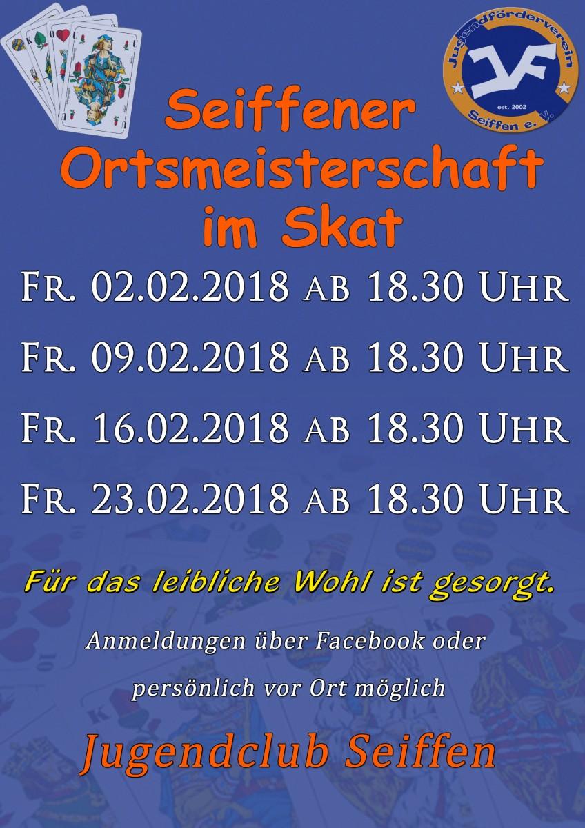Ortsmeisterschaft im Skat @ Jugendclub | Kurort Seiffen/Erzgeb. | Sachsen | Deutschland