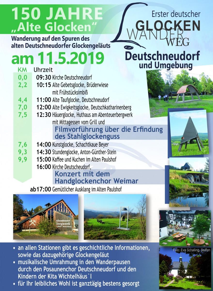 Wandern auf den Spuren des alten Deutschneudorfer Glockengeläuts 11.Mai.2019 1