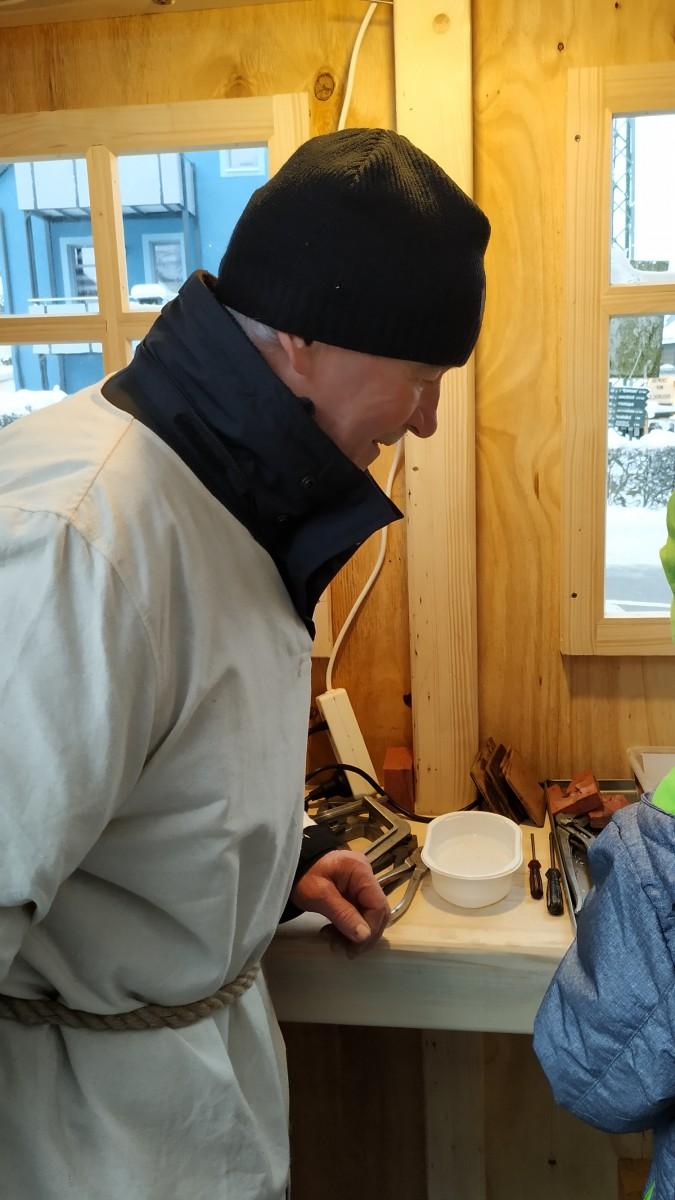 Zinnwerkstatt zur Seiffener Weihnacht 3