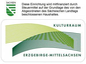 Die Bibliothek ist mediengefördert durch den Kulturraum Erzgebirge-Mittelsachsen.