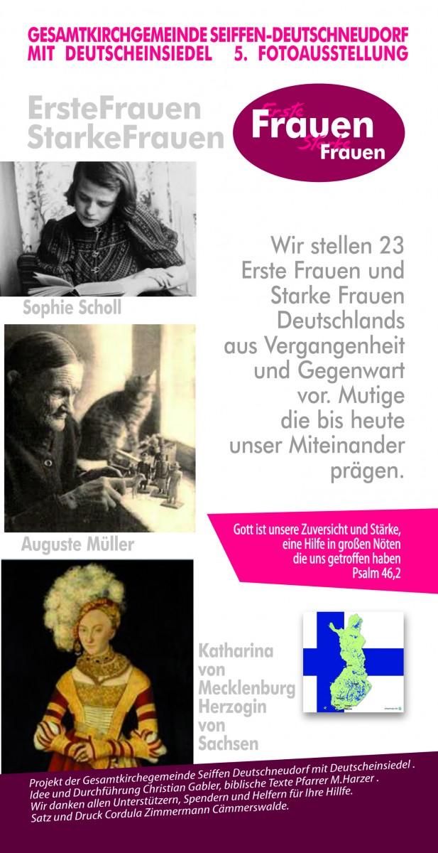 Fotoausstellung Starke Frauen @ Kirche Deutschneudorf | Deutschneudorf | Sachsen | Deutschland
