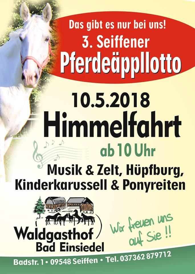 Pferdeäppelloto am 10.Mai 2018 im Waldgasthof 1