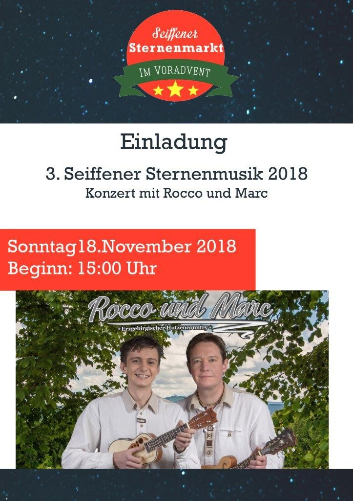 Rocco und Marc auf dem Sternenmarkt am 18.11.2018 1
