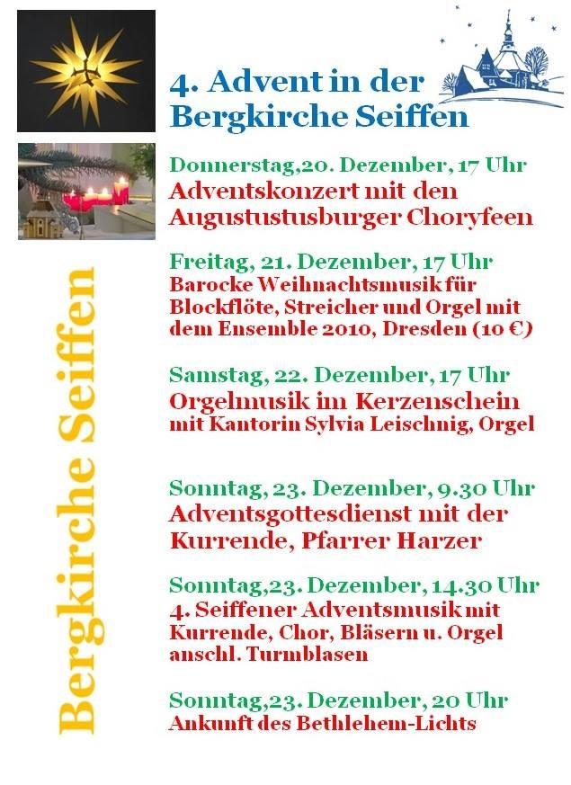 4.Adventswochenende 2018 in der Bergkirche 1