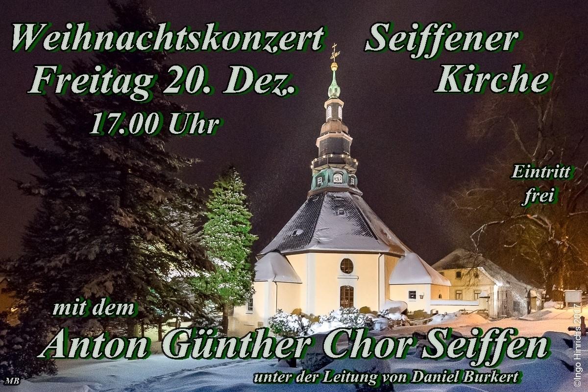 20.12.2019 Anton Guenther Chor in der Bergkirche