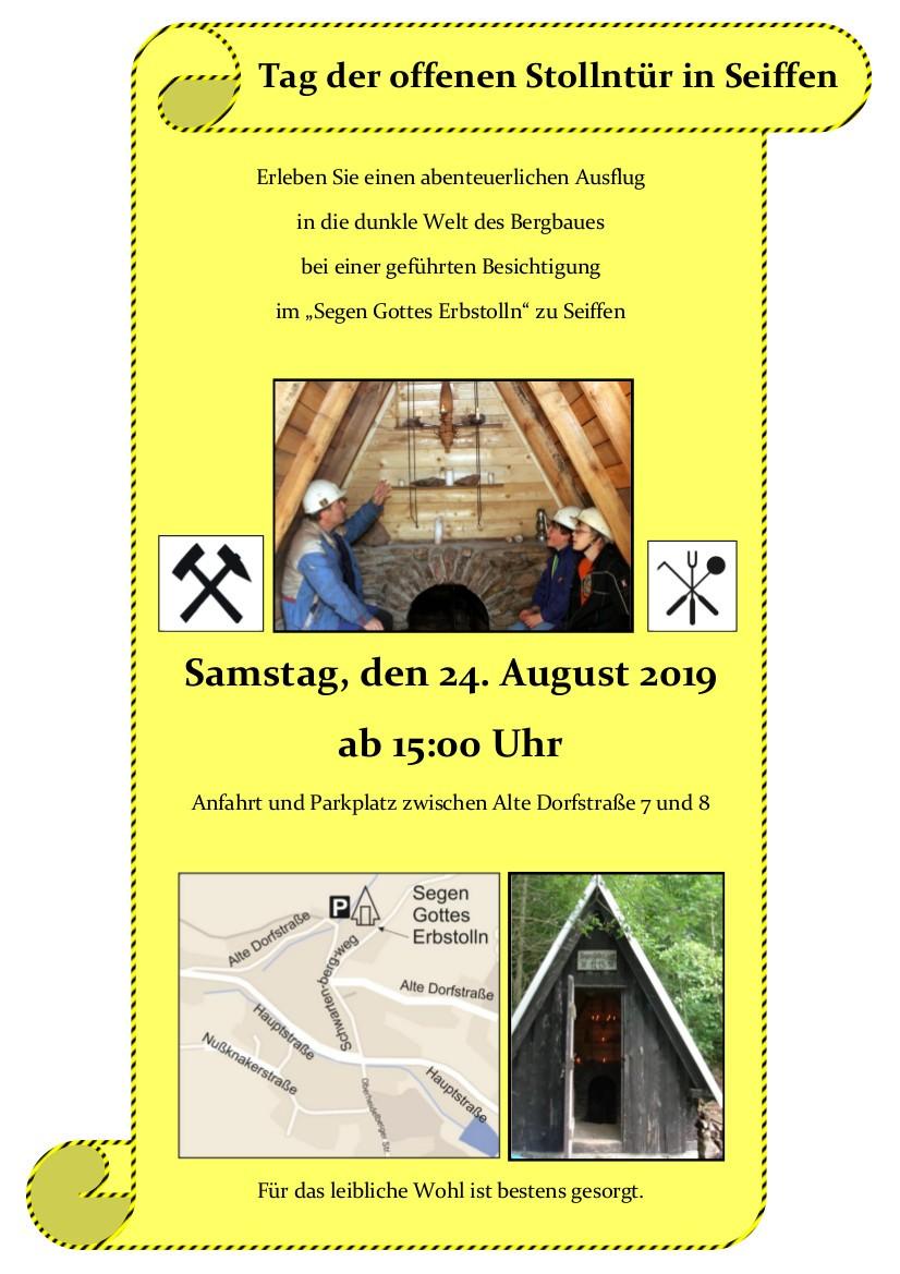 Tag der offenen Stollentür @ Schanze | Kurort Seiffen/Erzgeb. | Sachsen | Deutschland