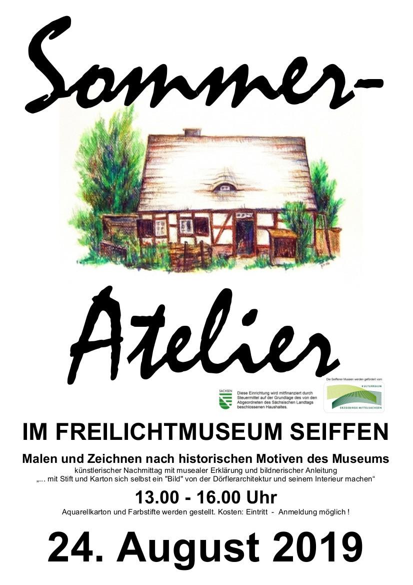 Sommer-Atelier @ Erzgebirgisches Freilichtmuseum | Kurort Seiffen/Erzgeb. | Sachsen | Deutschland