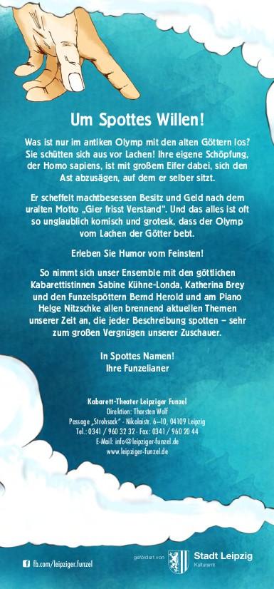 "Kabarett-Theater Leipziger Funzel ""Freude schöner Spötterfunken"" 6"
