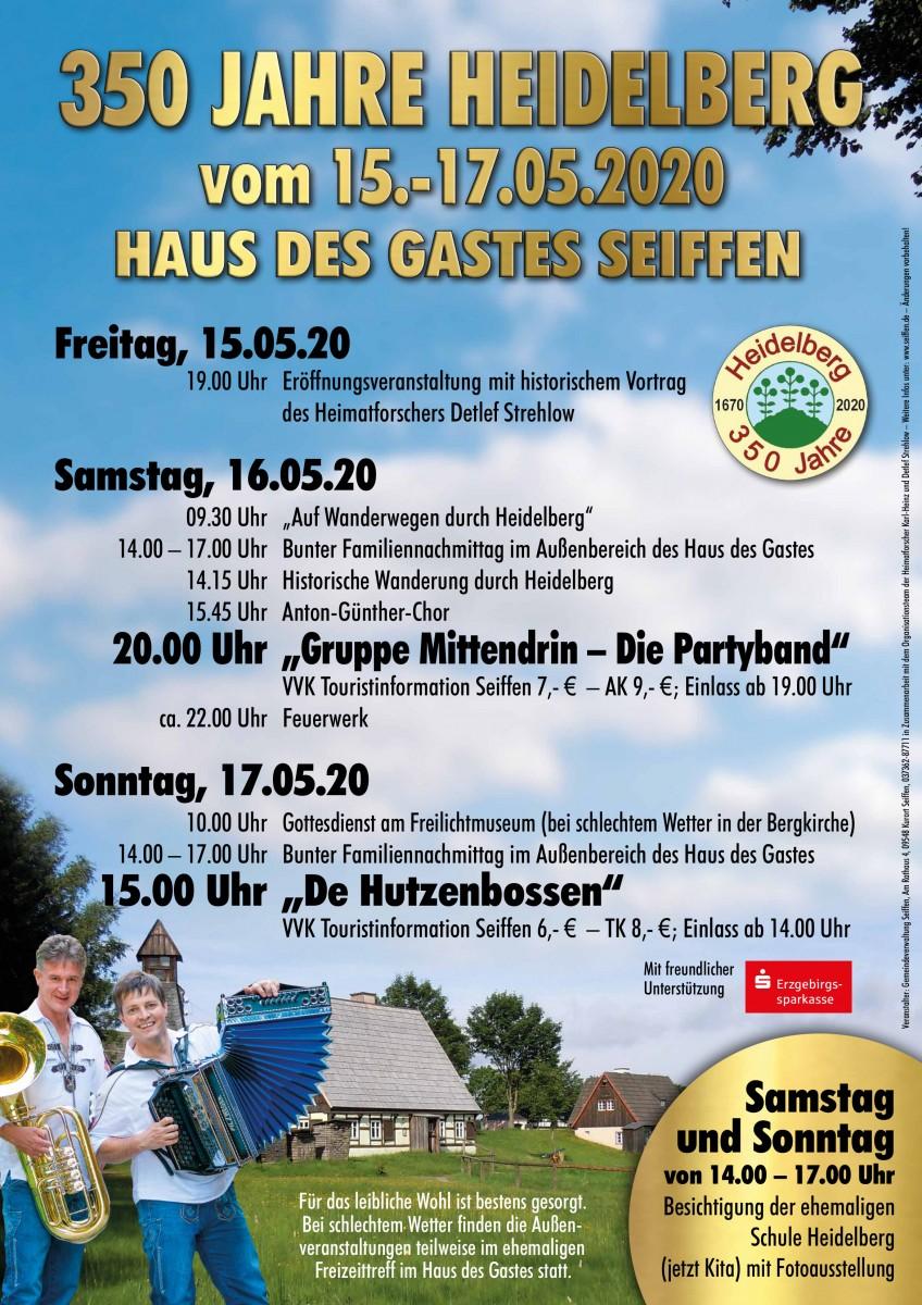 """350 Jahre Heidelberg-Tanzabend """"Gruppe Mittendrin-die Partyband"""""""