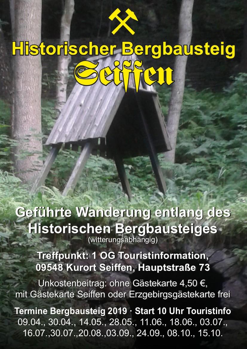 Führung entlang des historischen Bergbausteig 2
