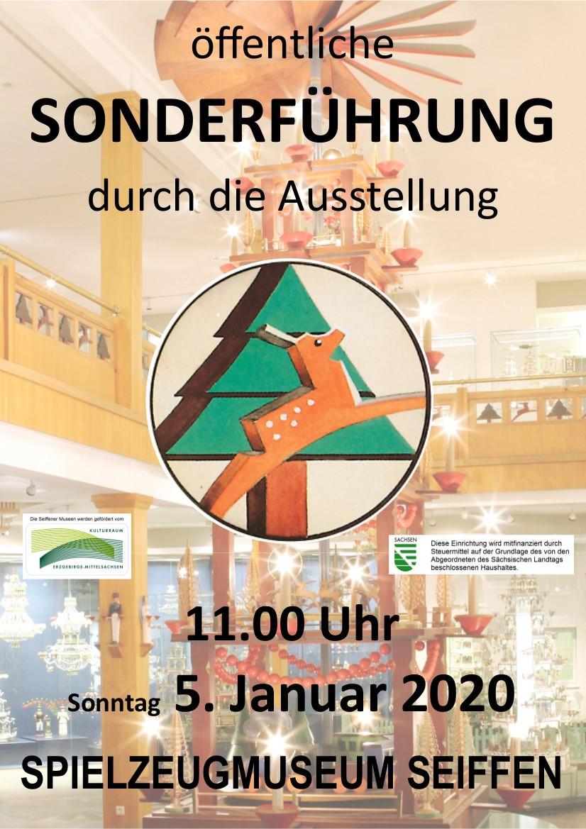 05.01.2020 Sonderführung Spielzeugmuseum