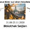 """Ausstellung in der Galerie """"neue Bilder auf alten Holzdielen"""" 2"""