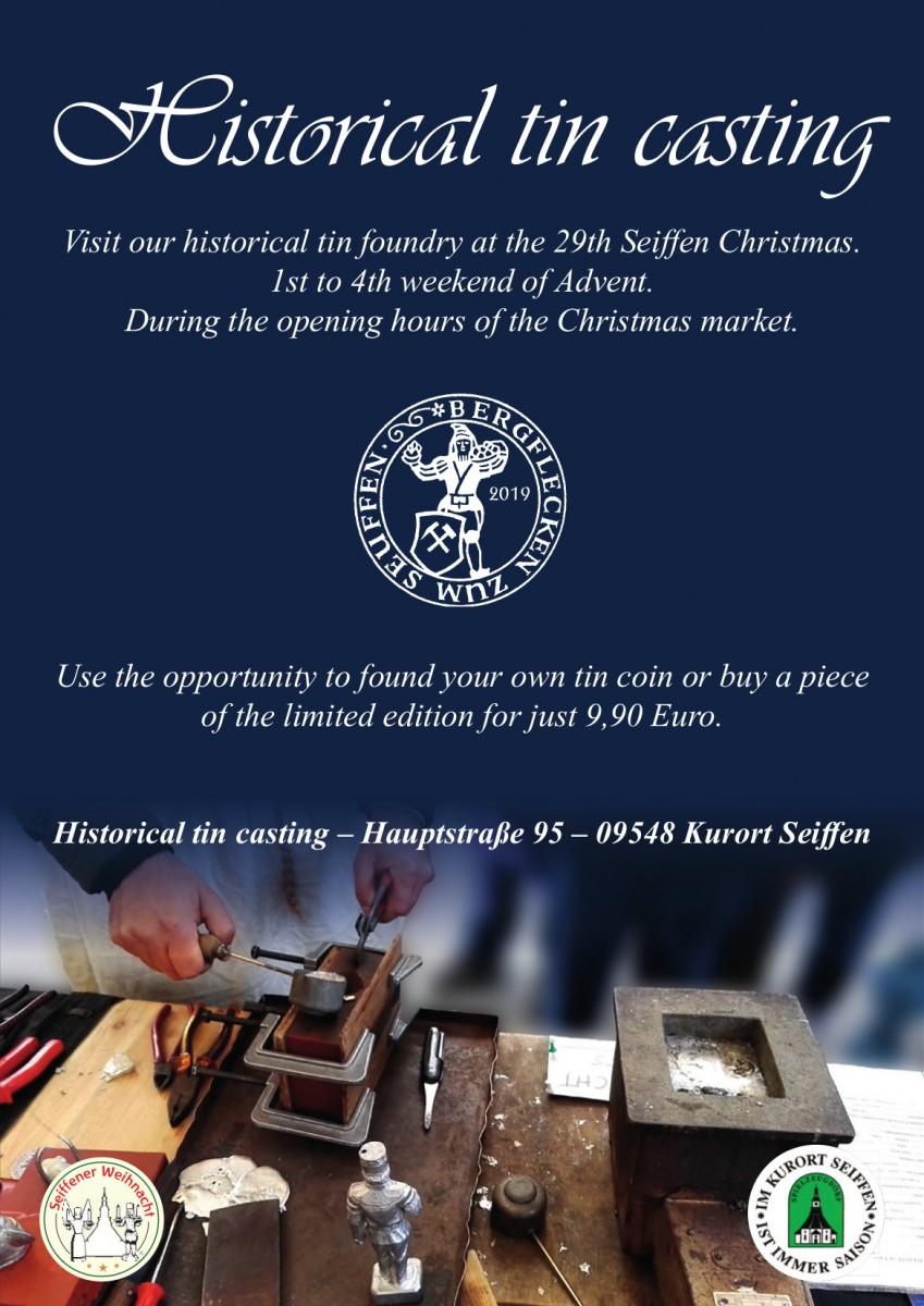 Zinnwerkstatt zur Seiffener Weihnacht 5