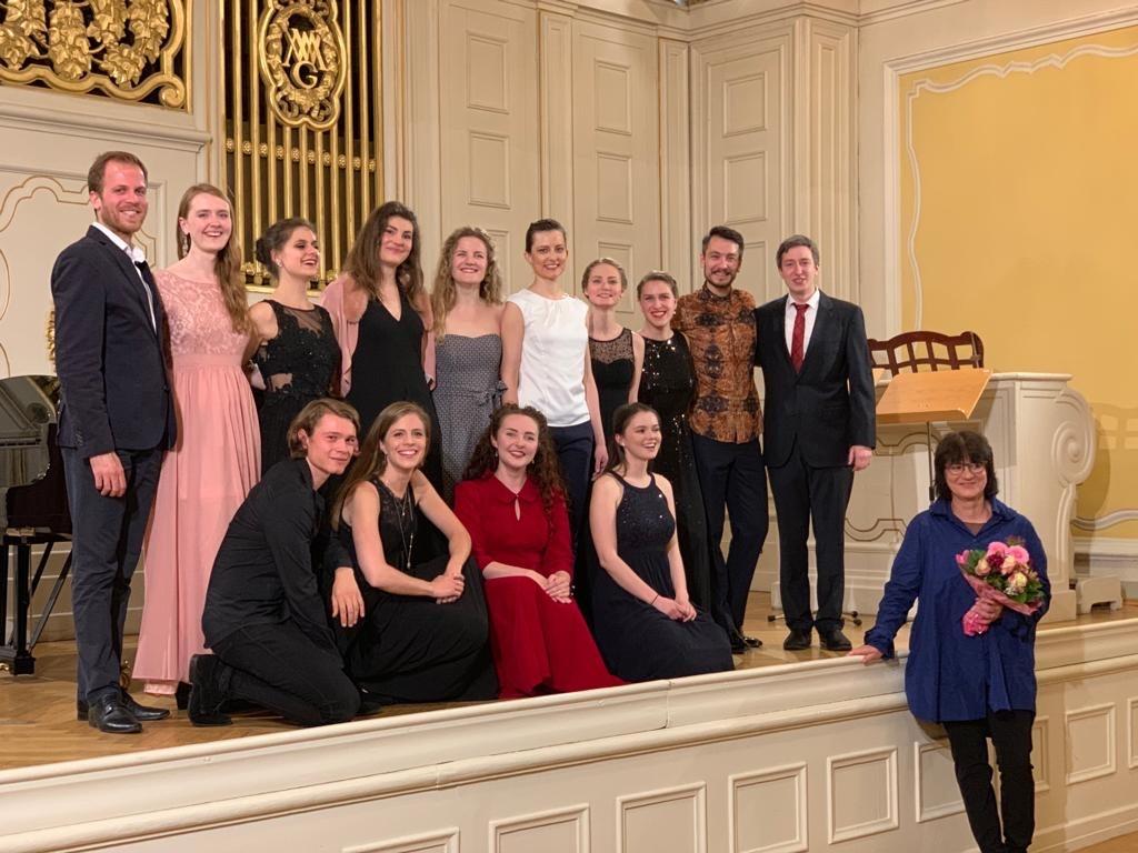 Junge Sänger des Mozarteum Salzburg zu Gast in der Bergkirche Seiffen 2