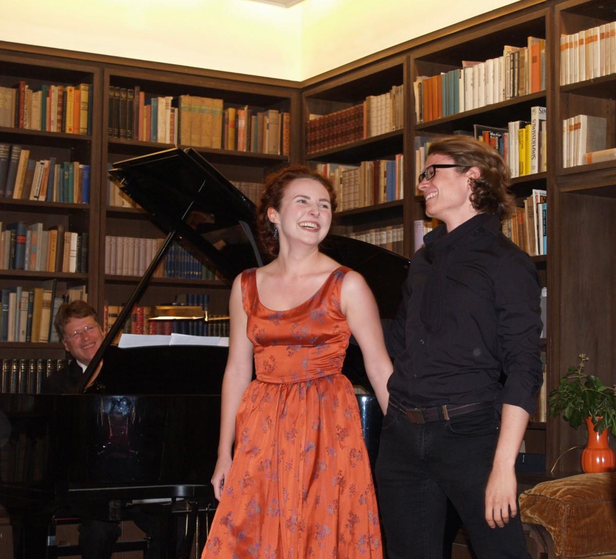 Junge Sänger des Mozarteum Salzburg zu Gast in der Bergkirche Seiffen 1