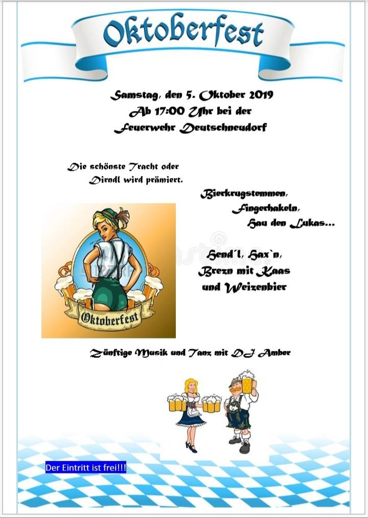 05.10.2019 Oktoberfest Deutschneudorf